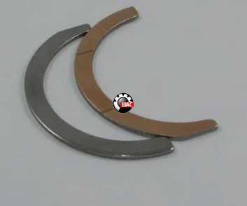 Dadi (Дади) Полукольца коленвала комплект 2 шт - 2.4
