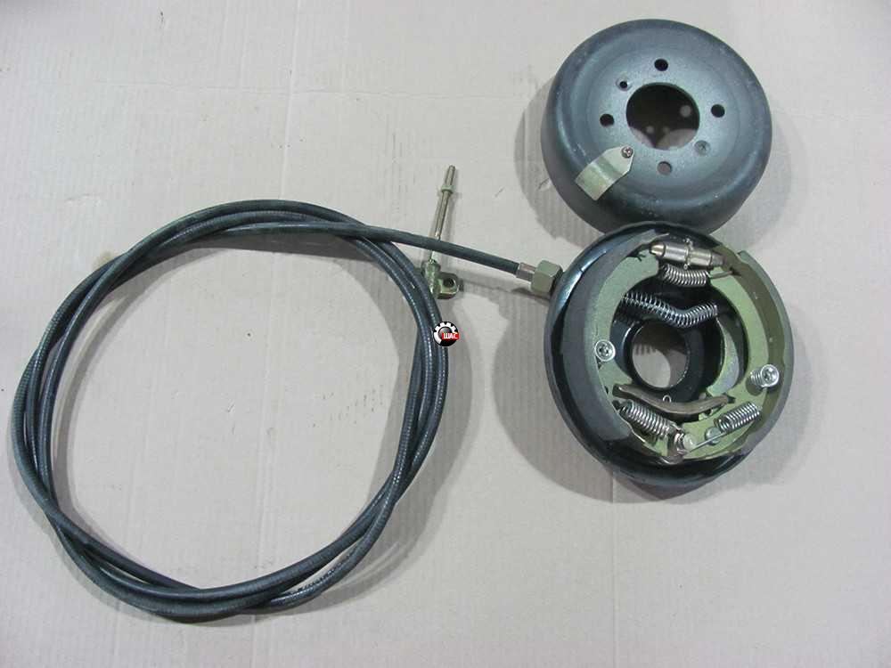 JAC 1020K Джак (V=2.54L) Механизм ручного тормоза в сборе с тросом