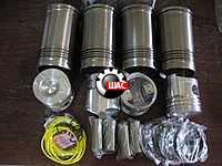 JAC 1045K Джак (V=2.8L) Комплект поршневой (4гил+4пор+4пал+4кол)