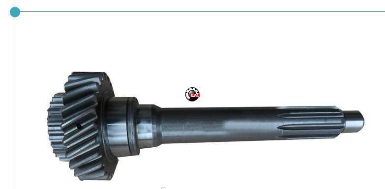 Dong-Feng DF40 (Донг Фенг) Вал КПП первичный (Z-23 h-330мм D-85мм)