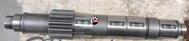 Dong-Feng DF40 (Донг Фенг) Вал КПП промежуточный (прямой зуб) Z-13
