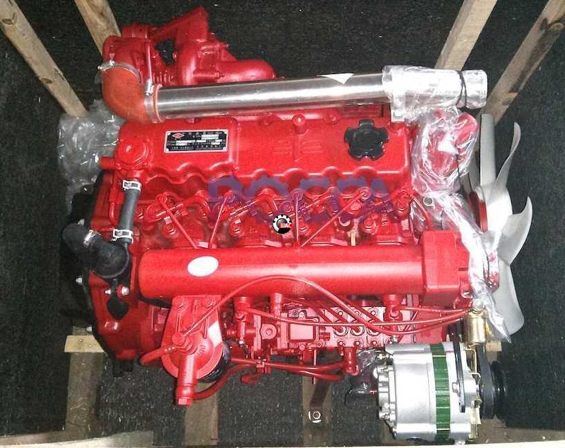 FAW (ФАВ) 1041 (V=3.17L) Двигатель в сборе (без турбины)
