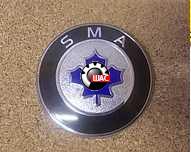 SMA (СМА) C51, C52, C81, R80 Эмблема передняя решетки радиатора 11,9 см