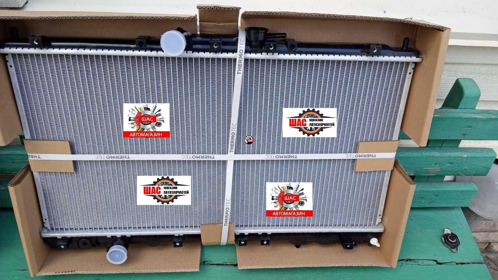 SMA (СМА) C51, C52, C81, R80 Радиатор охлаждения двигателя (2 два вентилятора) С52