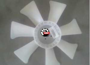 Foton 504  LOVOL (V=3,2L) Крыльчатка радиатора A498 BT-6A