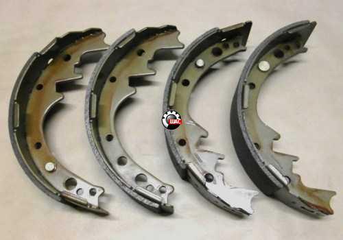 Dadi (Дади) Колодки тормозные задние барабанные 11-3502025 2WD