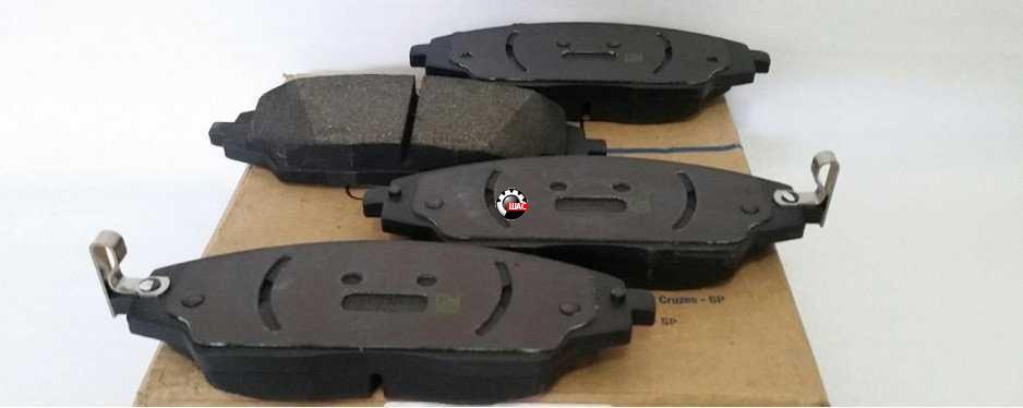 CHEVROLET AVEO T300 Колодки тормозные передние с ABS 95231012