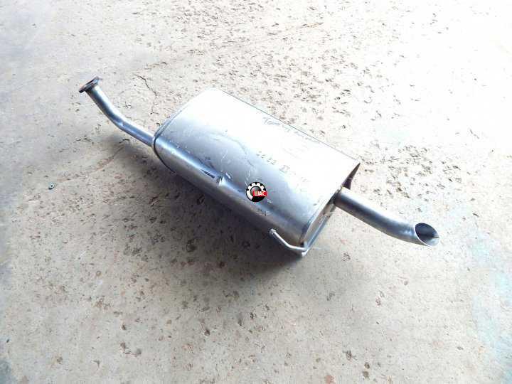 CHEVROLET LACETTI Глушитель алюминизированный 96461295
