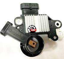 CHEVROLET AVEO T300 Регулятор напряжения с щётками 85A 93744561