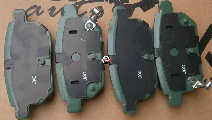 JAC S2 (Джак C2) Колодки тормозные задние