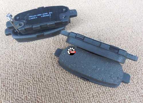 JAC S5 (Джак С5) Колодки тормозные задние