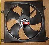 SMA (СМА) C51, C52, C81, R80 Вентилятор радиатора охлаждения